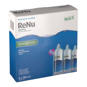 Bausch & Lomb Renu - Multiplus solution multifonctions (3 x 360 ml)