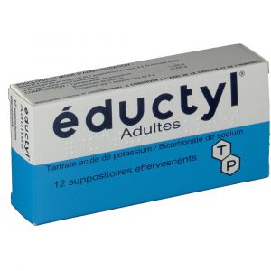Techni pharma éductyl Adultes - 12 Suppositoires