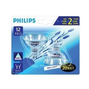 Philips 924049617106 Ampoule Halogène Spot - Culot GU5.3 - 35 Watts