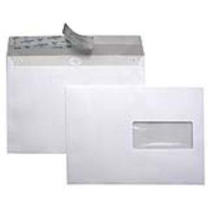 La couronne 500 enveloppes 16,2 x 22,9 cm avec fenêtre 4,5 x 10 cm (80 g)