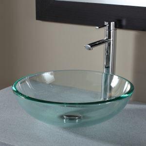 Vasque verre transparent salle de bain - Comparer 30 offres