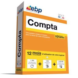 Compta Dynamic 12 mois 2017 + VIP pour Windows