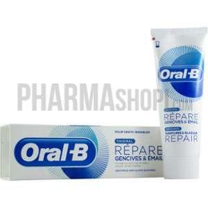Oral-B Répare gencive & email original, dentifrice spécialiste quotidien 75 ml