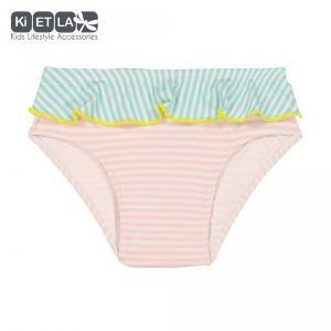 Ki ET LA Maillot de bain culotte anti-UV Annette stripe (18 mois)