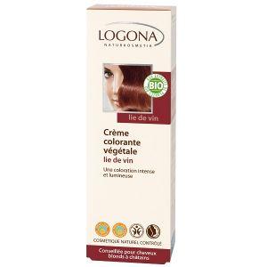 Logona Crème colorante végétale lie de vin 150 ml