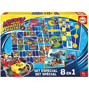 Educa 8 jeux en 1 Mickey et ses amis Top départ