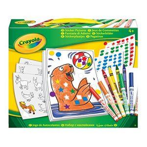 Crayola Jeux de gommettes (CR046801)