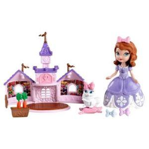 Mattel Princesse Sofia et Ginger le Lapin dans son château