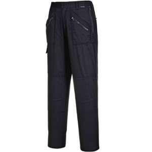 Portwest S687 %u2013 Señoras Pantalons d'action couleur noir taille 3 xL