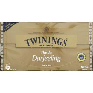 Twinings Thé noir darjeeling Doux & Léger