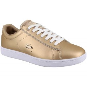 Lacoste Carnaby Evo Or Blanc