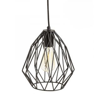 Kokoon Design Lampe Abat-jour Filaire Noir SOHO