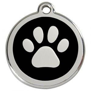 Chadog Médaille personnalisable motif Patte de chien