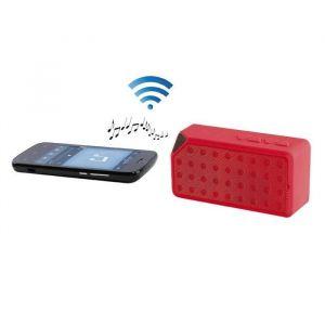 Clip Sonic TES138R Haut-parleur compatible Bluetooth - Rouge