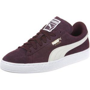 Puma Suede Classic, Sneakers Basses Femme, Violet (Winetasting-White), 42 EU