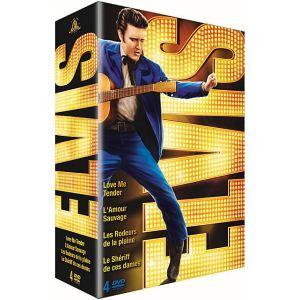 Elvis the King - Love Me Tender + Amour sauvage + Les rôdeurs de la plaine + Le shérif de ces dames