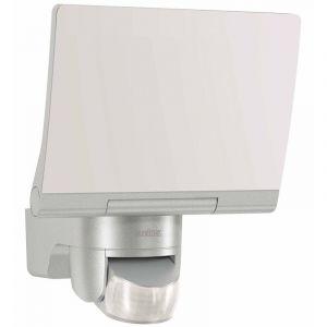 Steinel XLED Home 2 LED XL Noir %u2013 Grand Capteur de projecteur extérieur avec détecteur de mouvement 140 °, Silber, Integriert 20 wattsW
