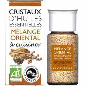 Aromandise Cristaux d'Huiles Essentielles Bio Mélange Oriental 20g