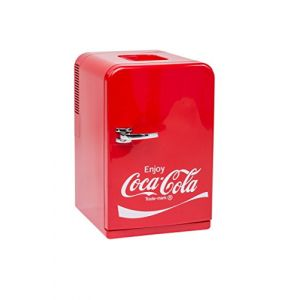 Coca-Cola Ezetil Mini Fridge 15 Mini-réfrigérateur / mini-bar EEC=A++ (A++ - E) thermoélectrique 12 V, 230 V rouge 14 l