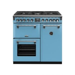 Stoves PRICHDX90DFBLA - Richmond Deluxe 90 cm Gaz Bleu Azur - Piano de cuisson