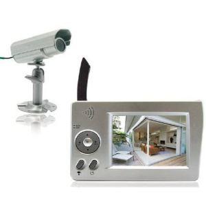 Extel WESV 82300 - Kit de vidéosurveillance sans fil avec 1 caméra extérieure