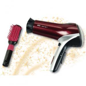 Klein Sèche-cheveux Satin Hair avec brosse Braun