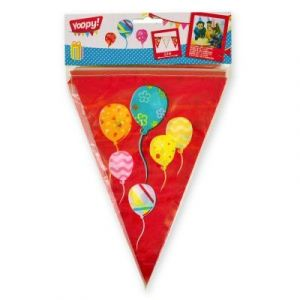 Yoopy Guirlande 9 fanions Ballons