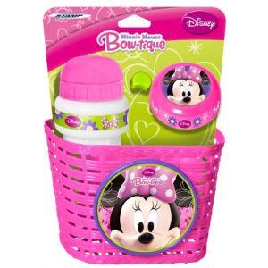 Stamp Set accessoires vélo Minnie Mouse corbeille, sonnette et gourde
