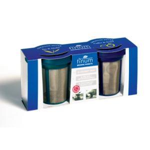 Finum 4210800 - Set 2 filtres Goldton en acier inox
