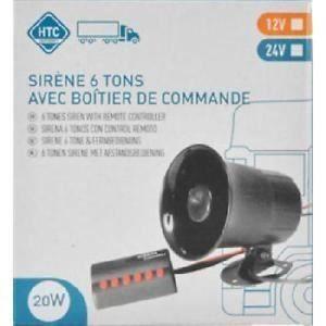 HTC Sirène 6 tons - 12V