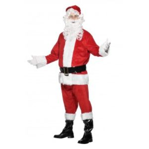 Déguisement de Père Noël homme (taille M)