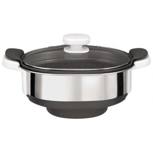 Moulinex XF384B10 - Cuiseur vapeur pour robot cuisine Companion