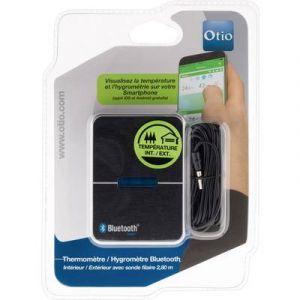 Otio Thermométre hygromètre int/ext Bluetooth 4.0 avec capteur filaire -