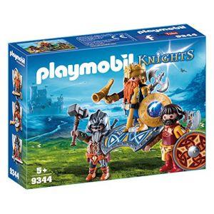 Playmobil 9344 - Knights : Le Roi nain