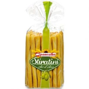 Panealba Gressins à l'huile d'olive - Le sachet de 250g
