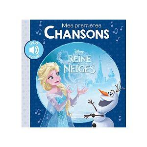Hachette La Reine des Neiges - Mes Premières chansons