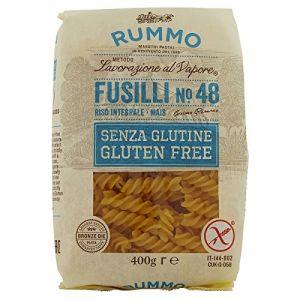 Rummo Fusilli n°48 sans Gluten - Le sachet de 400g