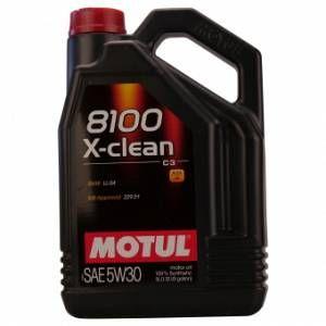 Motul 8100 X-clean 5W-30 5 Litre(s) Bidon
