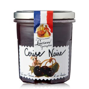Lucien georgelin Confiture Cerise Noire Pomme - Le Pot De 320 G
