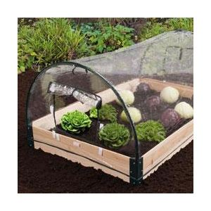 Ose Serre de jardin châssis en bois et housse PVC intégrée