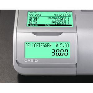 Casio Caisse enregistreuse SE-S400 Noir argenté