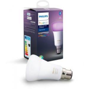 Philips Ampoule connectée LED B22 10W Hue White & Colors