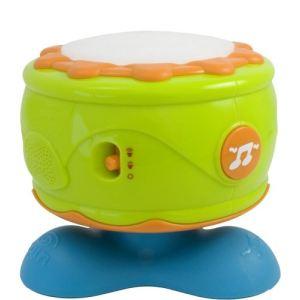 Miniland Baby Tambour avec lumières et sons