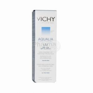 Vichy Aqualia Thermal UV - Soin hydratant 24h fortifiant protecteur