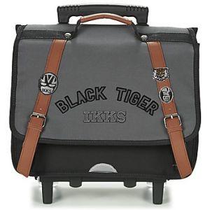 IKKS Cartable à roulettes Black Tiger 38 cm CP/CE1 Gris