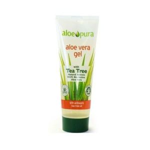 Aloe Pura Organic Aloe Vera Gel Tea Tree