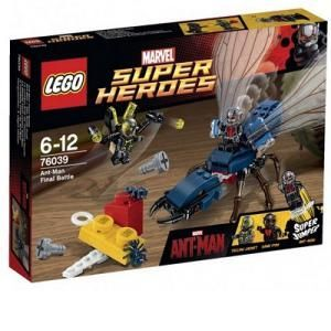 Lego 76039 - Super Heroes : Marvel Comics - Le combat final de l'homme fourmi
