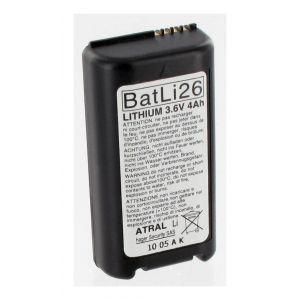 Image de Hager Pile lithium 2 x 3,6 volts 2 ah batli26