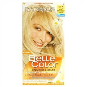 Garnier Belle Color 110 Blond Très Très Clair Naturel - Coloration permanente