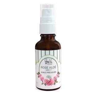 Oemine Belle huile Précieuse Rose-Aloe-ABbricot certifiée BIO